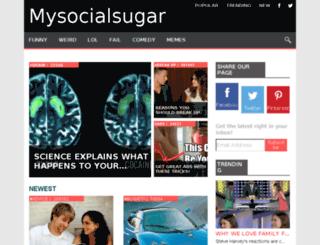 mysocialsugar.org screenshot