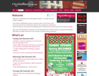 mysodbury.co.uk screenshot