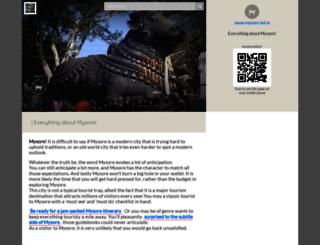 mysore.ind.in screenshot