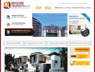 mysorepropertymart.com screenshot