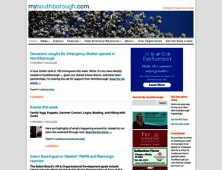mysouthborough.com screenshot