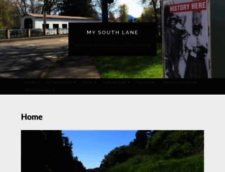 mysouthlane.com screenshot