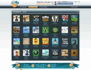 myspace.come2play.com screenshot