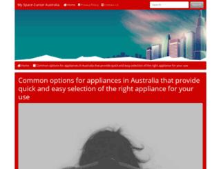 myspacecursor.net screenshot