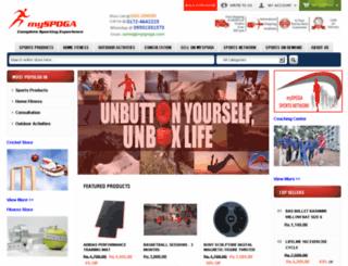 myspoga.com screenshot