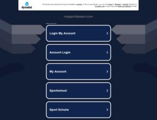 mysportdream.com screenshot