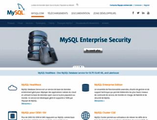 mysql.fr screenshot