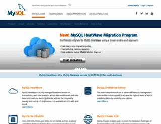 mysql.org screenshot
