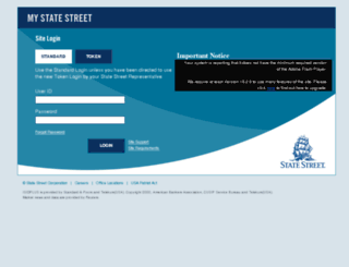 mystatestreet.com screenshot
