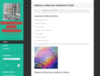mysteriesovermartinis.com screenshot