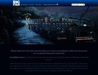 mysterycasefiles.com screenshot