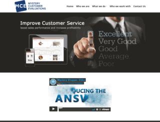 mysterycustomerevaluations.com screenshot