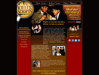 mysterydinner.com screenshot