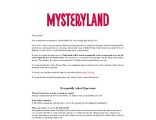 mysteryland.us screenshot