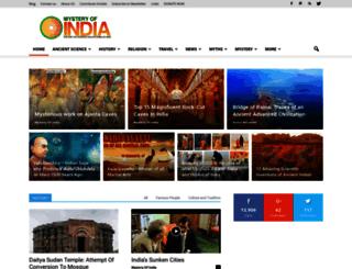 mysteryofindia.com screenshot