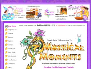 mysticalmoments.com screenshot