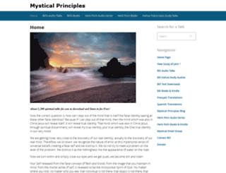 mysticalprinciples.com screenshot