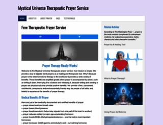 mysticaluniverse.com screenshot