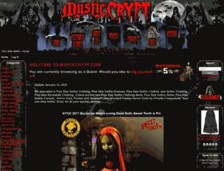 mysticcrypt.com screenshot
