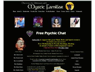 mysticfamiliar.com screenshot