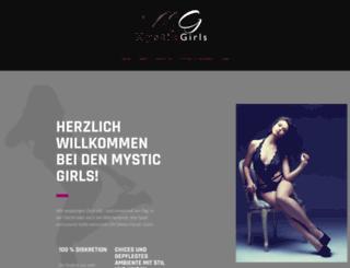 mysticgirls.ch screenshot
