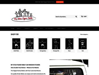 mystickfigurefamily.uk.com screenshot