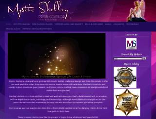 mysticshelley.com screenshot