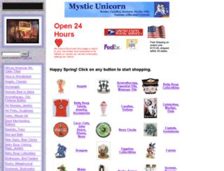 mysticunicorn.com screenshot