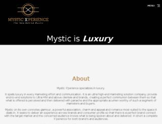 mysticxperience.com screenshot