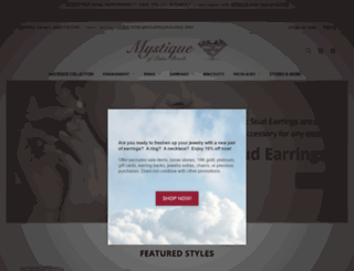 mystiquegems.com screenshot