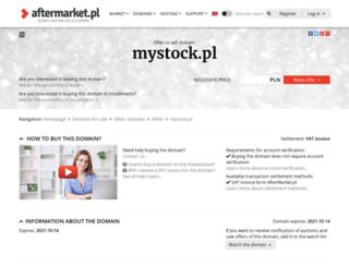mystock.pl screenshot