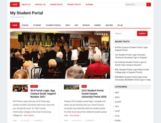 mystudentportals.com screenshot