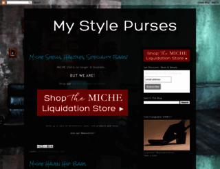 mystylepurses.blogspot.com screenshot