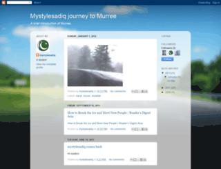 mystylesadiqmurree.blogspot.com screenshot
