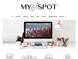 mystylespot.net screenshot