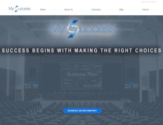 mysuccess.com screenshot