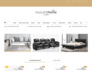 mysuitehome.com.au screenshot