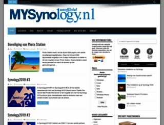 mysynology.nl screenshot