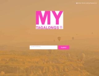 mytagalongs-com.myshopify.com screenshot