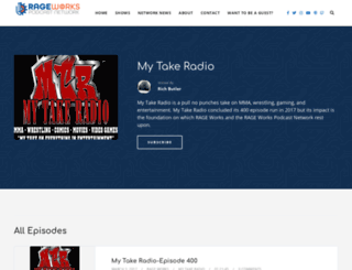 mytakeradio.com screenshot