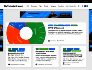 mytechmantra.com screenshot