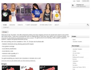 myteestore.com.au screenshot