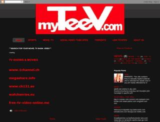 myteev.blogspot.com screenshot