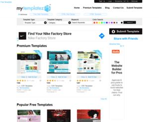 mytemplatez.com screenshot