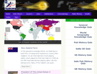 myteststudy.com screenshot
