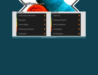 mythdhr.myapron.com screenshot