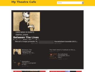 mytheatrecafe.com screenshot