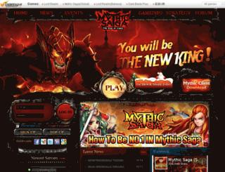 mythic.voomga.com screenshot