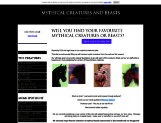 mythical-creatures-and-beasts.com screenshot