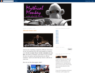 mythicalmonkey.blogspot.com screenshot